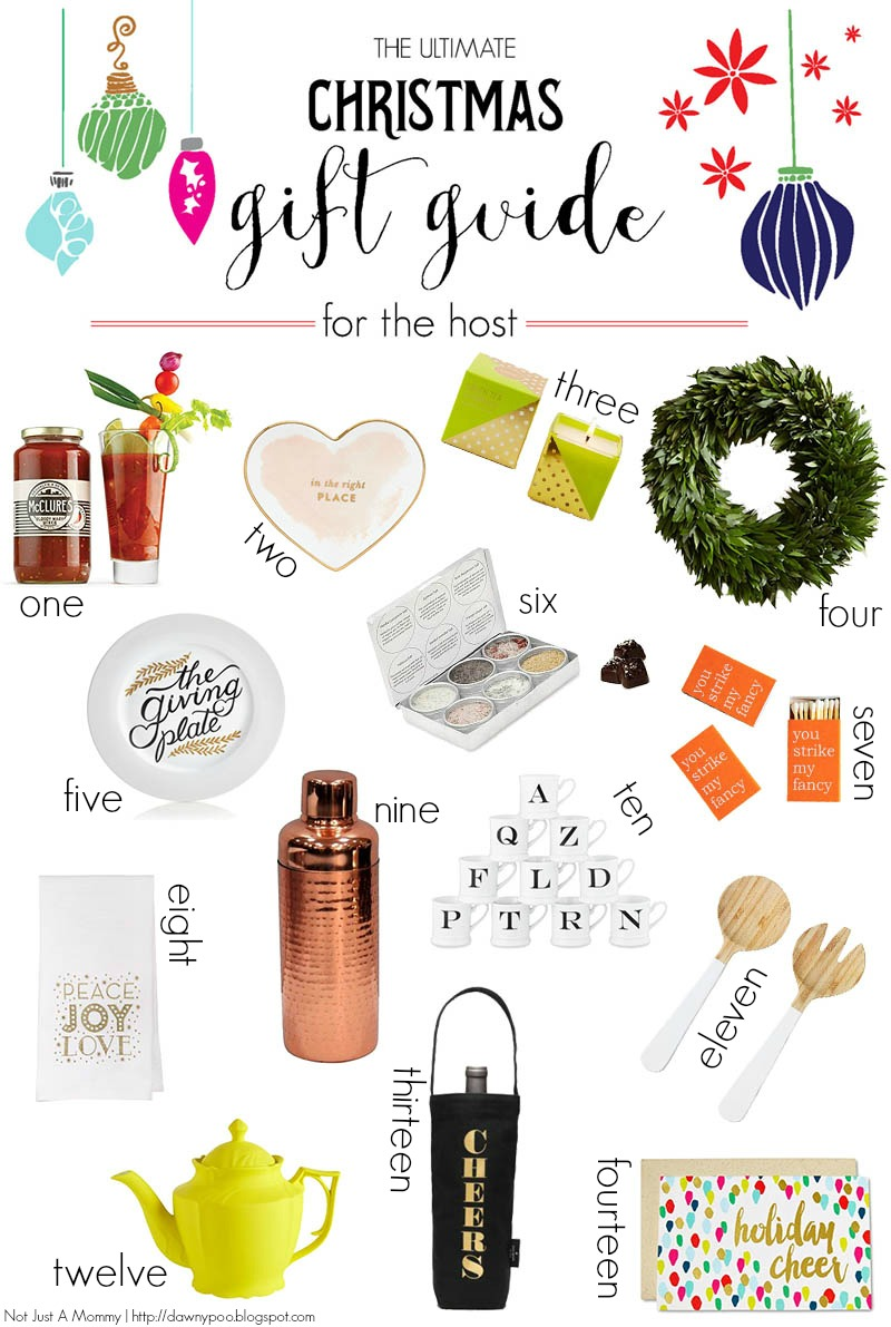 The Ultimate Gift Guide: For The Hostess