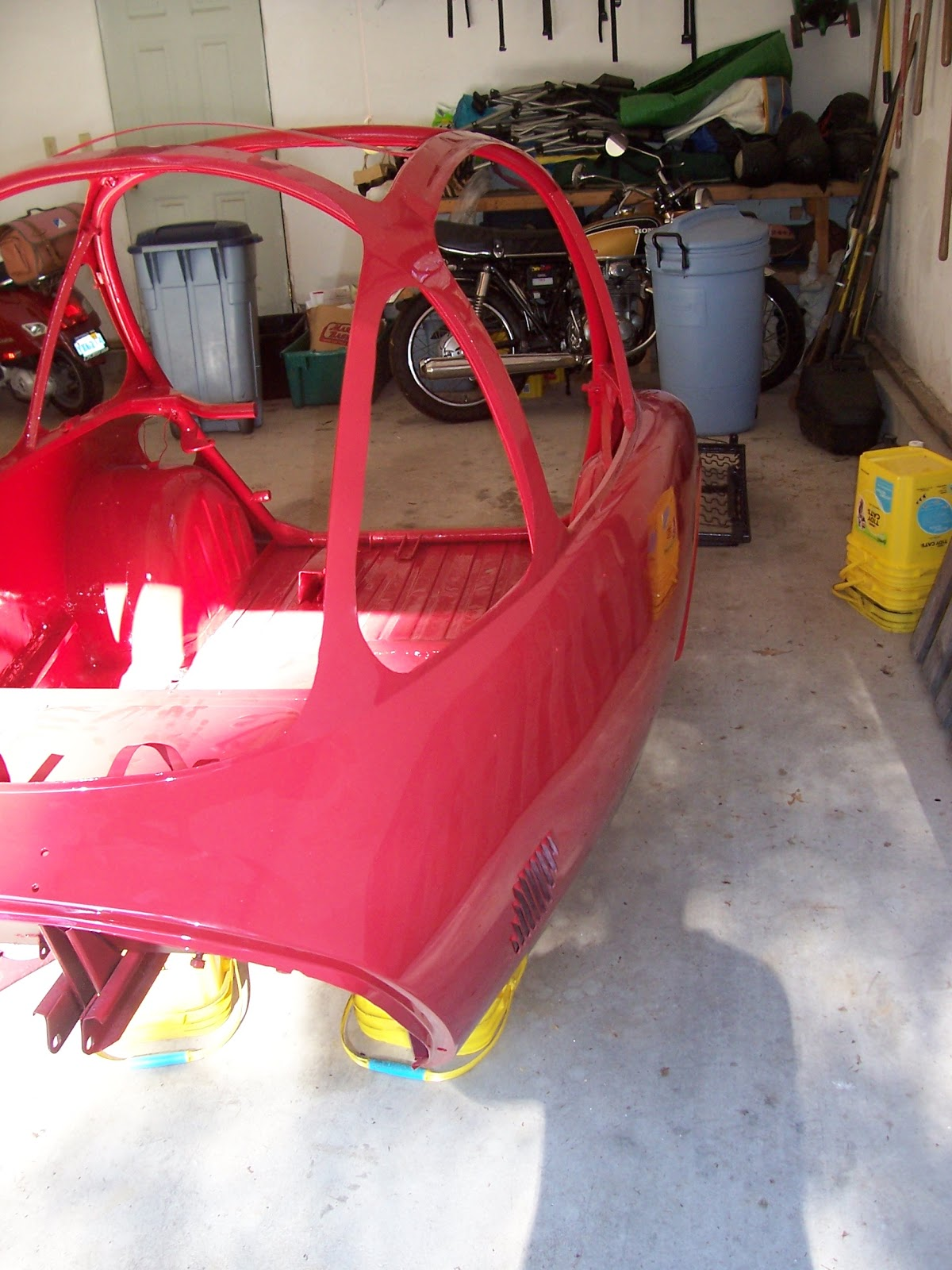 Heinkel Car Body