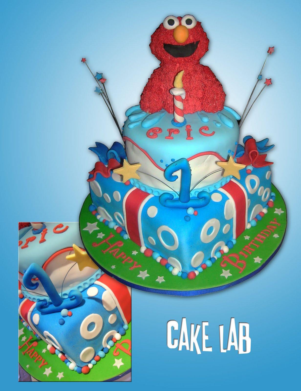 ZacO Cakes Elmo 1st Birthday Cake