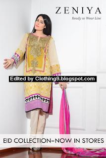 Zeniya Ready To Wear Line - Eid Collection 2015