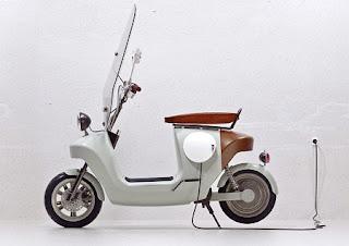Scooter Ecológica con Estructura de Cáñamo, Vehículos Ecoresponsables