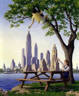 Robert Gonsalves, ilusiones ópticas, pintura