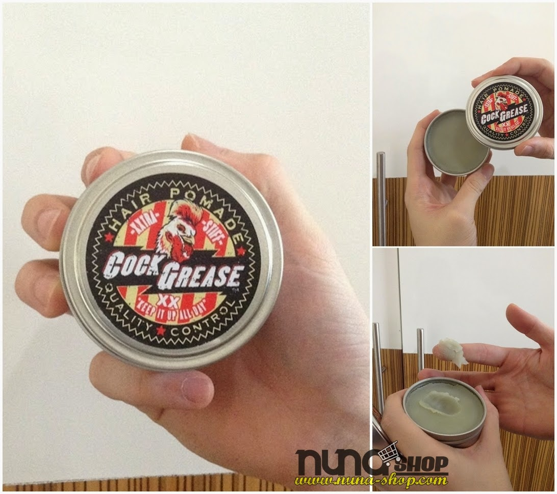 COCK GREASE XX HAIR POMADE