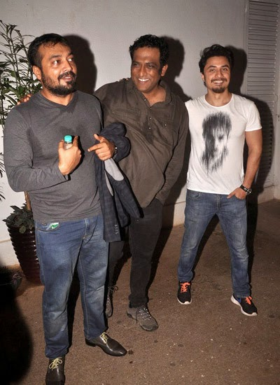Bollywood celebs at Haider movie screening