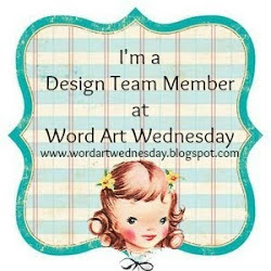 Word Art Wednesday Design Team Member
