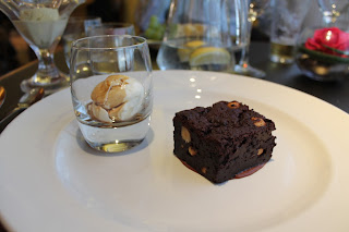 Dessert, Brownie, restaurant review, Marriott Hotel, Waltham Abbey, Essex, lbloggers, fdbloggers,