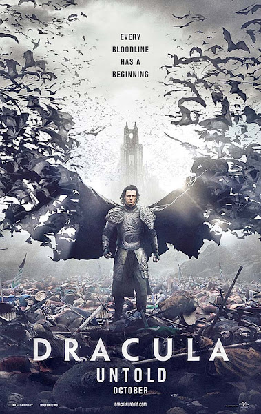 Poster Of Dracula Untold 2014 720p BRRip Dual Audio