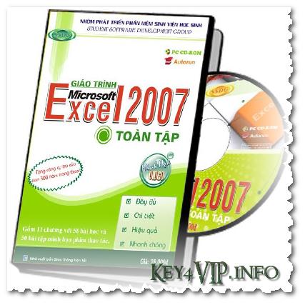 Giáo trình tiếng Việt học Excel SSDG 2007 (Ebook+Video)