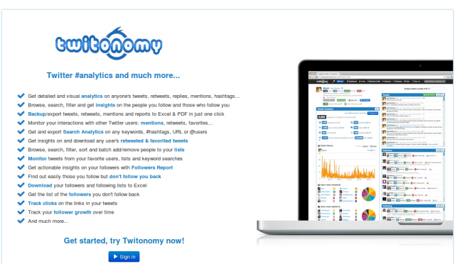 Twitonomy - análise de redes sociais para empreendedores e marqueteiros
