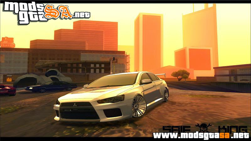 SA - Mitsubishi Lancer X RAY-Racing Edition HD