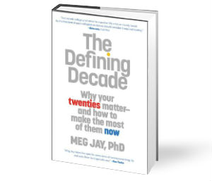 Books: The Defining Decade: Why Your Twenties Matter - And How to ...