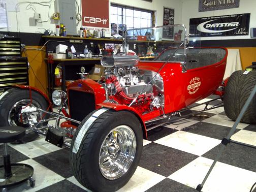 cap it ford t bucket hot rod 1923 t bucket update the body is on