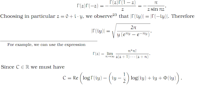 Complex Analysis: #28 Stirling`s Formula equation pic 8