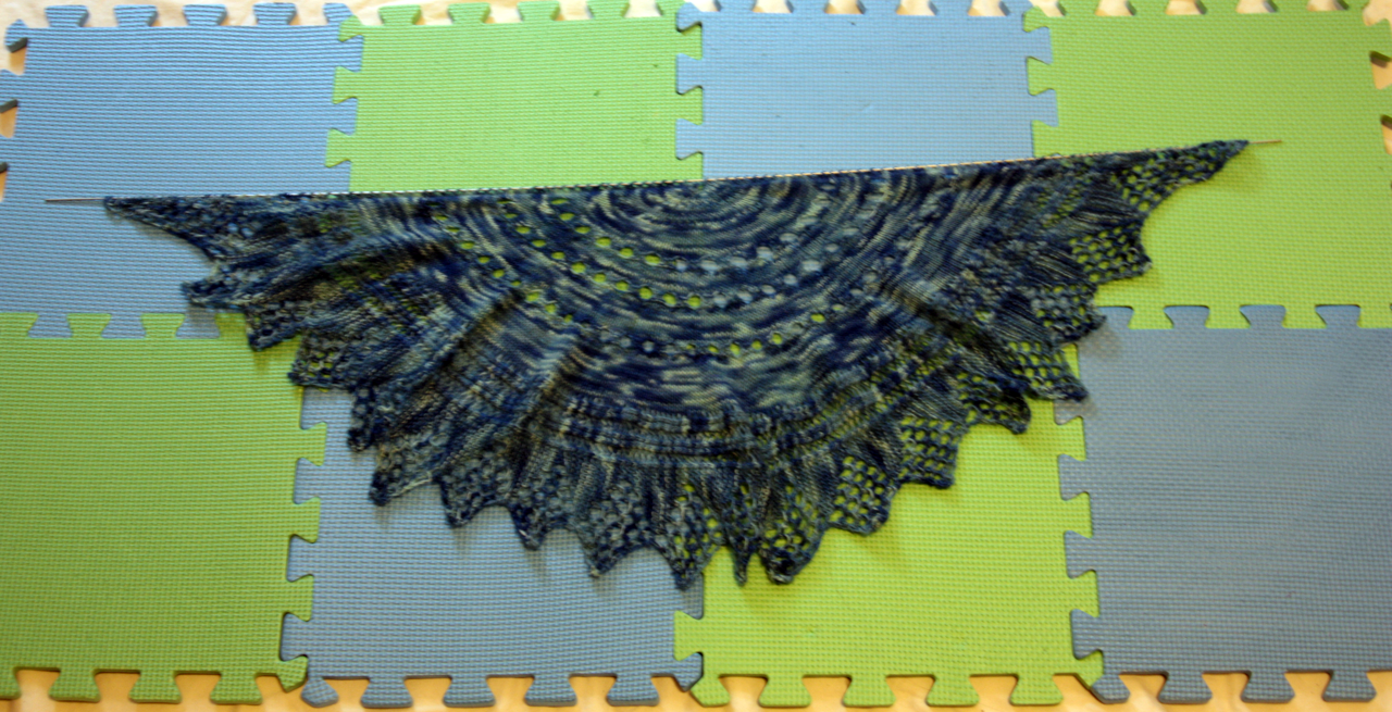 Knitter S Pride Lace Blocking Wire Tutorial Winner