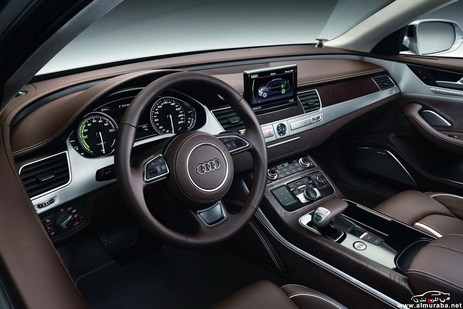 Car Modern اودي A8 2012