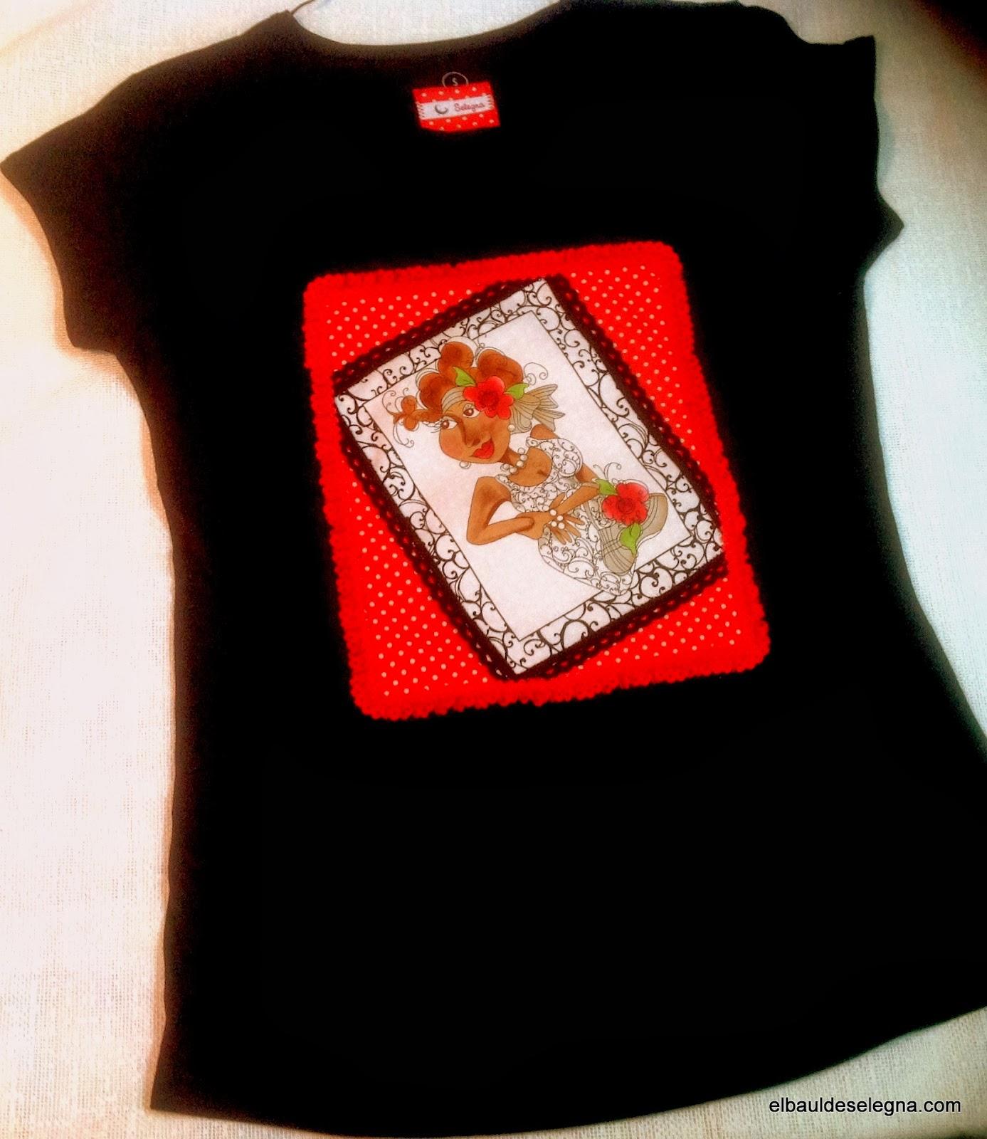 Camiseta chica loca 04