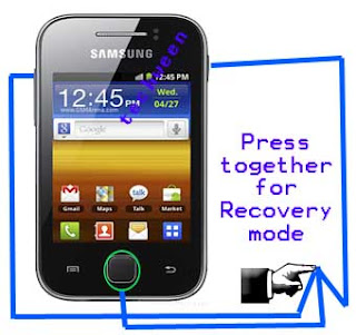 How to hard reset or restore back an android phone