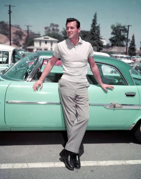 hudson gay singles Rock hudson (november writes he was the first person to confirm to the press that hudson was gay in you can't dismiss a man's whole life with a single act.