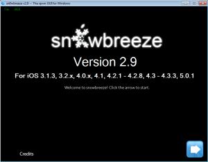 Sn0wBreeze Version 2.9
