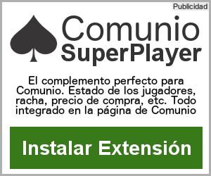 Script Comunio SuperPlayer Extensión para Chrome