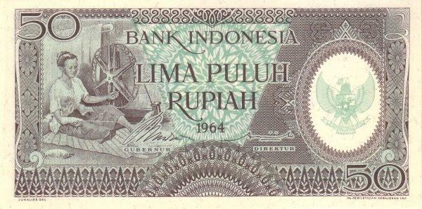 Rp50 tahun 1964