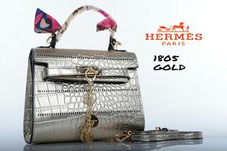 Tas KW Hermes Kelly Mini Croco Super 1805DC Jakarta
