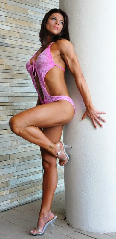 Ann Titone, female fitness models, fitness women