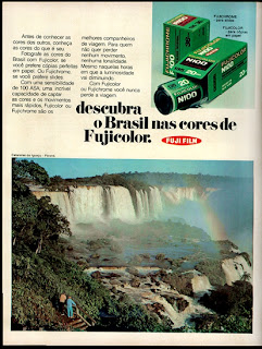 propaganda Fujicolor - 1973. 1973; os anos 70; propaganda na década de 70; Brazil in the 70s, história anos 70; Oswaldo Hernandez;