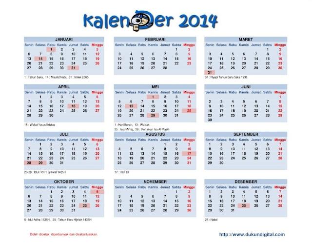 Kalender 2014 Download