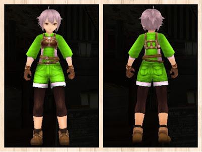 レザーアーマー ピンク1+蛍光緑3 男 軽量化