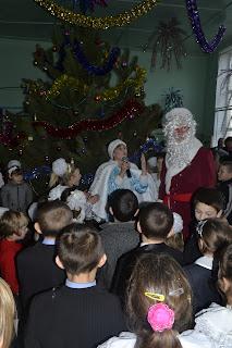 День Святого Миколая у Привільнянській школі-інтернаті.