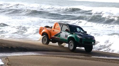 Buena labor del Mar del Plata Dakar Team en el Cross Country