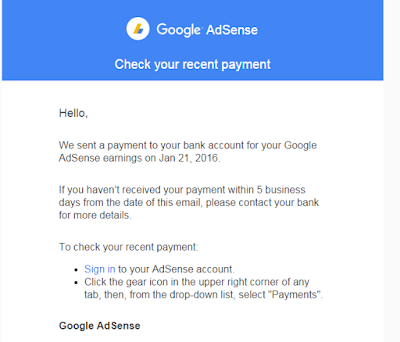 income google adsense