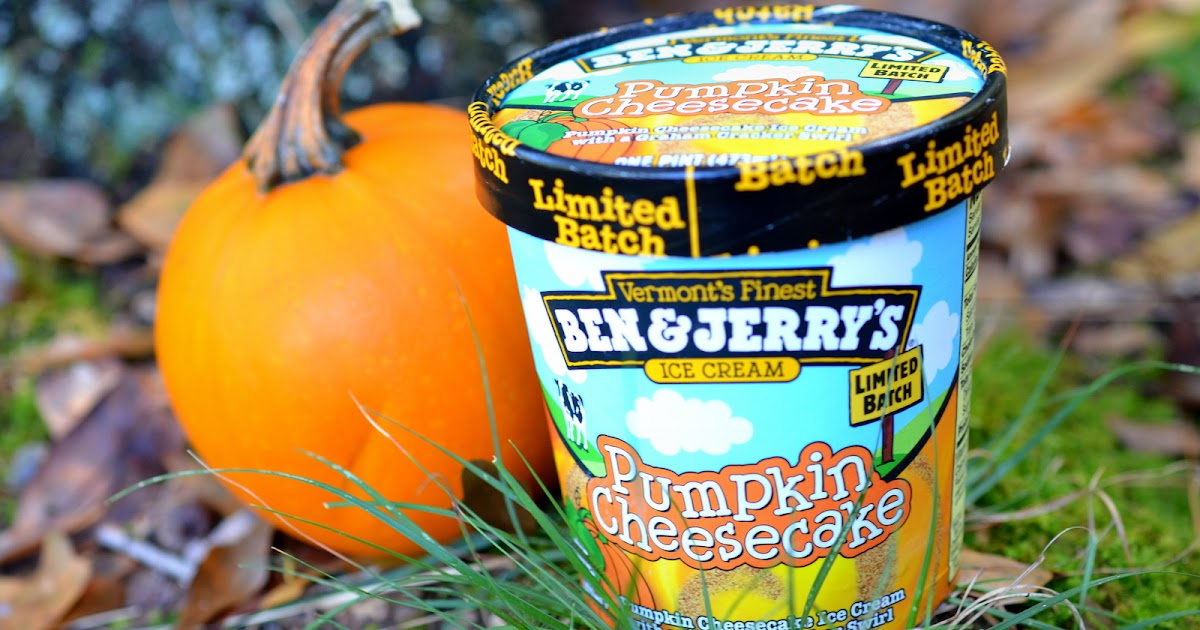 The Ice Cream Informant: REVIEW: Ben & Jerry's Pumpkin Cheesecake ...