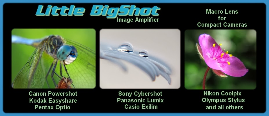 Little BigShot Image Amplifier Closeup Macro Lens for Compact Point and Shoot Cameras