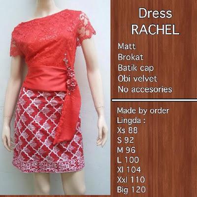 Kebaya Batik Modern Rachel KBW 303