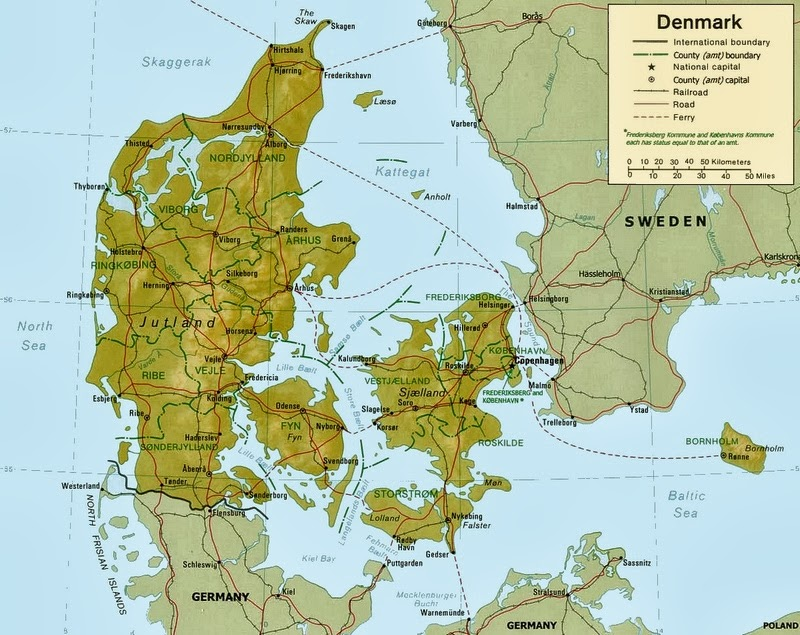 World Military And Police Forces Denmark - Where is denmark located