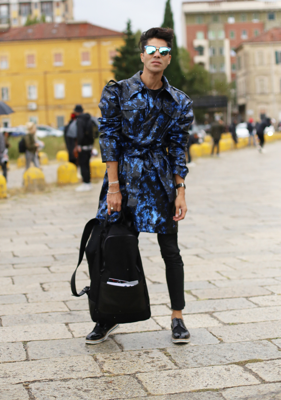 Milan Fashion Week - Street Style  - SS16