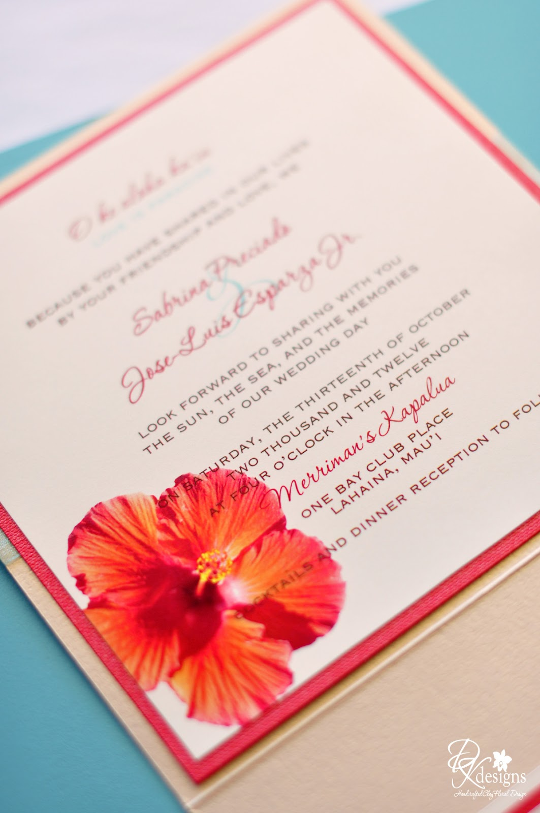 Rustic Beach Themed Wedding... - DK Designs