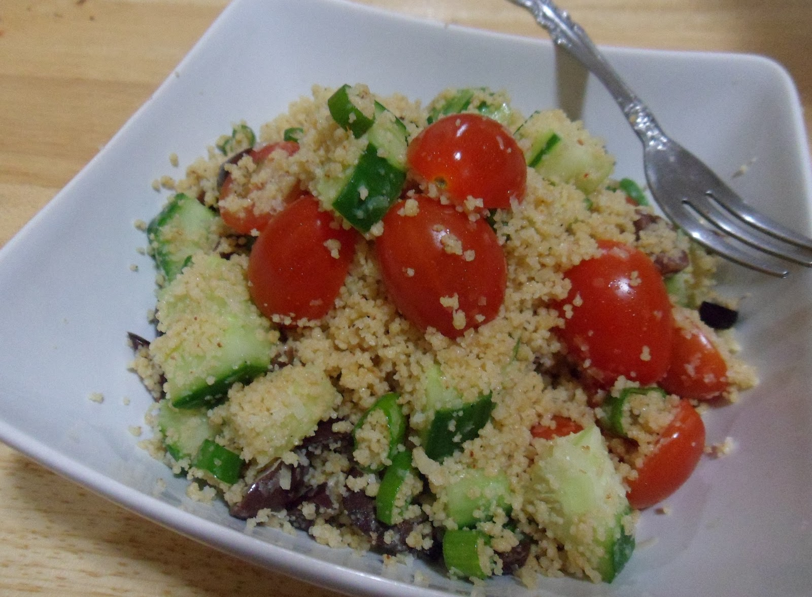 Sweet Frosting: Mediterranean Couscous Salad