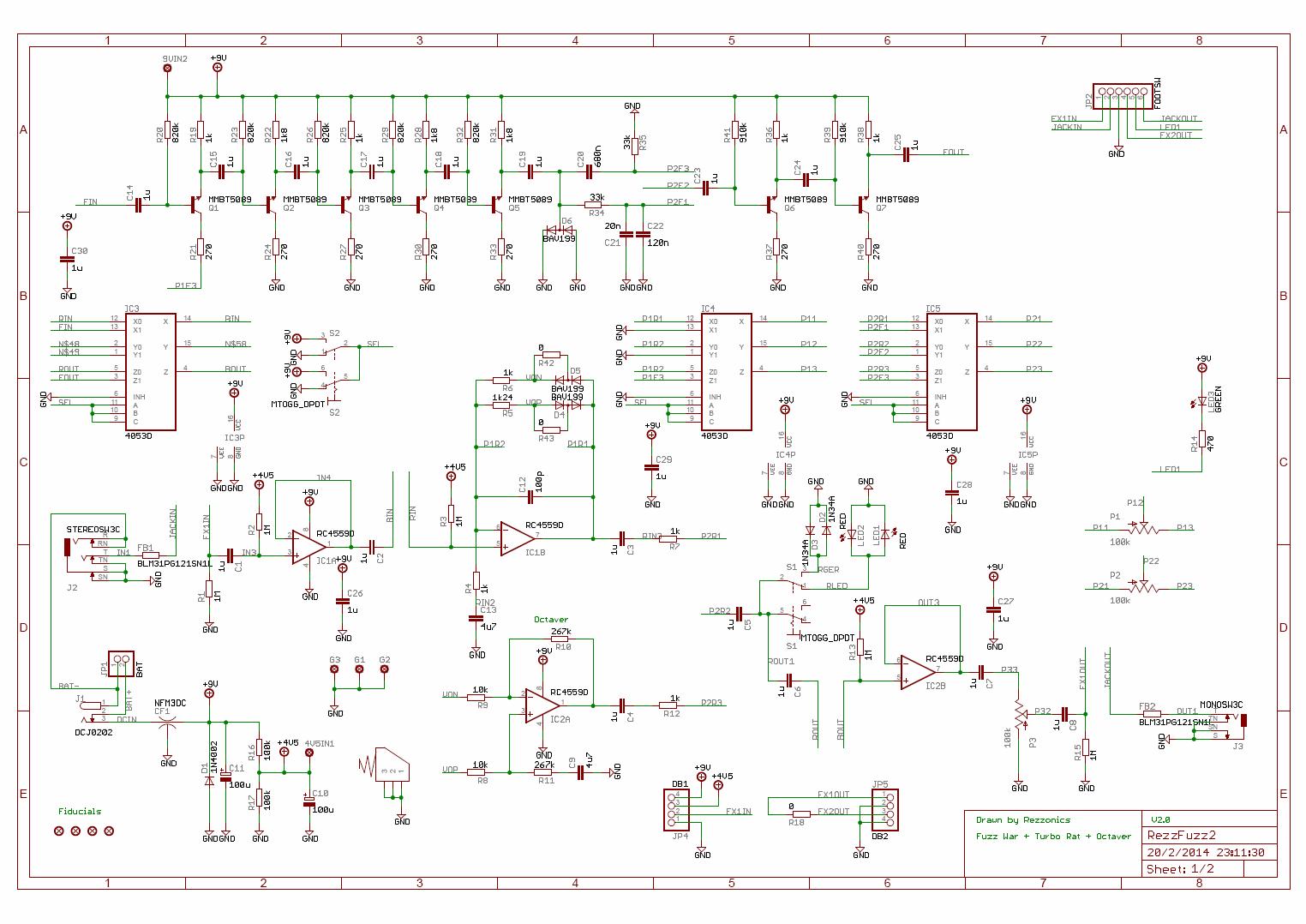 2 transistor npn fuzz schematics 2 get free image about wiring diagram