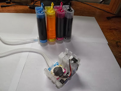 epson ink system with ink tanks