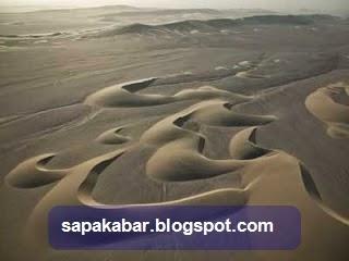 sund dunes hasil sedimentasi