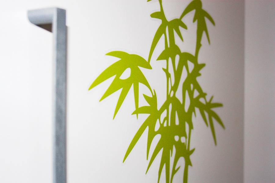 Vinilos para animar tus aburridas paredes cortar coser - Pegatinas pared ikea ...