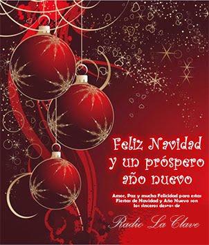 Radio La Clava con todo el Power para estas Fiestas con la Mejor Musica..