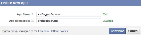 Facebook AppID