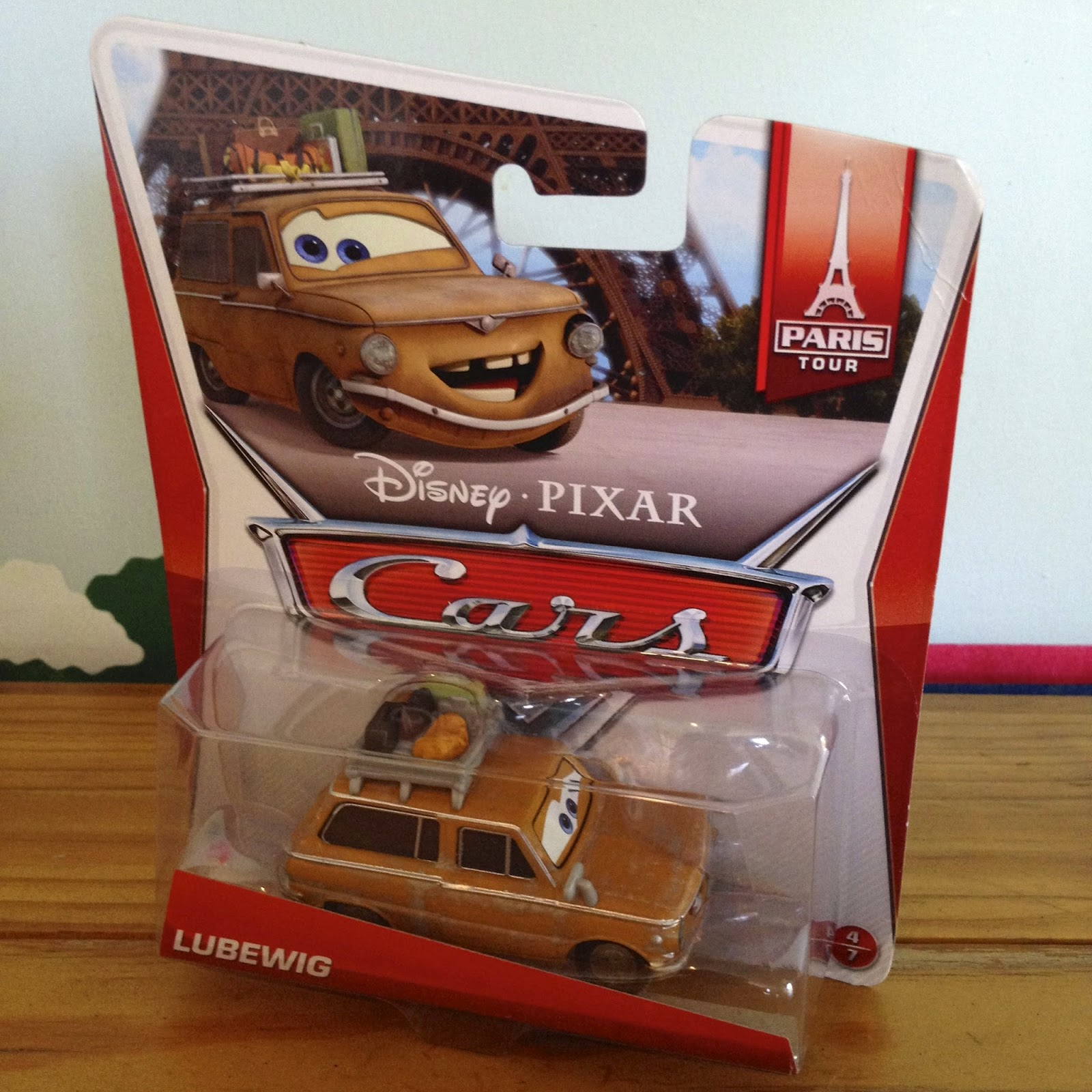 new car release this yearDan the Pixar Fan Cars 2 Lubewig