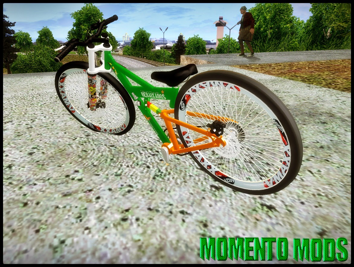 GTA SA - BikeLand Na Fixa (Bicicleta Rebaixada)