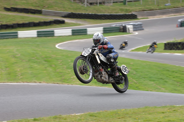 Scott Motorcycle Racing Wheelie