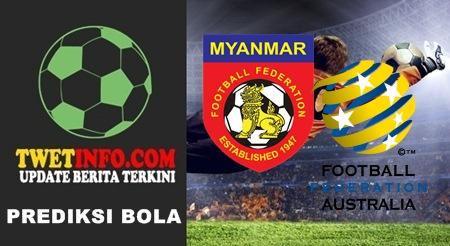 Prediksi Myanmar U16 vs Australia U16, AFC U16 18-09-2015